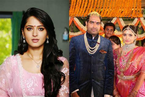anushka shetty marriage husband details 25cineframes anushka shetty gave krish ramya s wedding a miss coz of