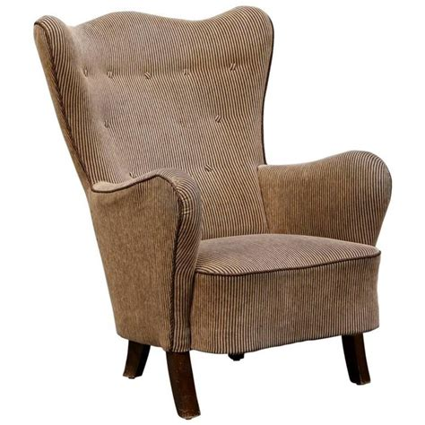 wingback armchairs for sale danish modern wingback armchair for sale at 1stdibs