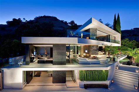 hollywood mansions world of architecture modern hollywood mansion openhouse