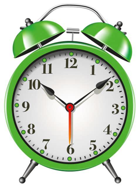 Delightful Best Quality Wall Clocks #5: Green_Alarm_Clock_PNG_Clip_Art-1124.png