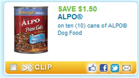 dog food coupons for walmart alpo dog food coupon 0 53 at walmart passion for