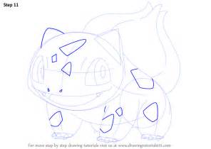 learn how to draw bulbasaur from pokemon pokemon step by