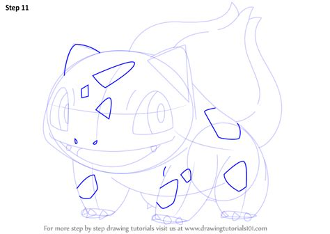steps on how to draw doodle learn how to draw bulbasaur from step by