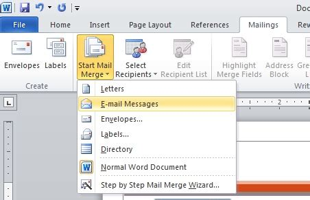 10 things you should know about word 2010's mail merge