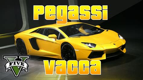 Lamborghini Vacca Gta 5 Secret Car Location Pegassi Quot Vacca Quot Gta 5