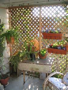 Backyard Trellis Ideas Garden Trellis For Condo Balcony Privacy Garden Partition Gardens Sun And