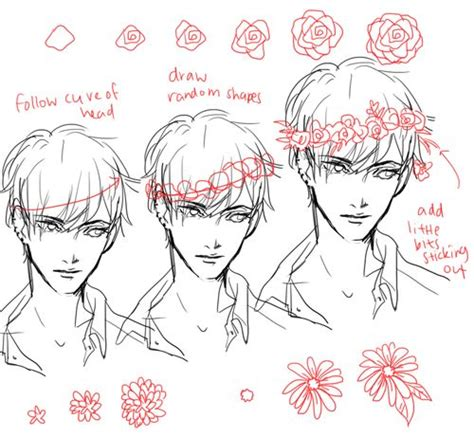 doodle flowers tutorial skull with flower crown drawing search