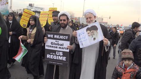 news iran iran marks revolution with to america chants