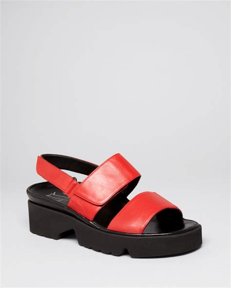 thierry rabotin shoes thierry rabotin platform sandals barton footbed in