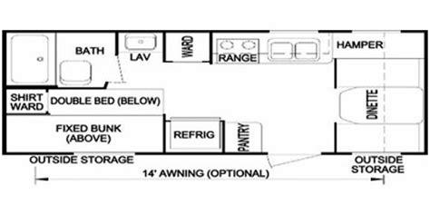 layton travel trailer floor plans full specs for 2009 skyline layton 190 rvs rvusa com