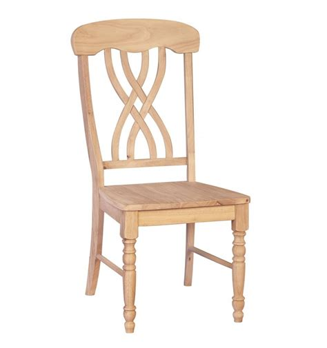 unfinished dining room chairs latticeback side chairs burr s unfinished furniture bryan tx