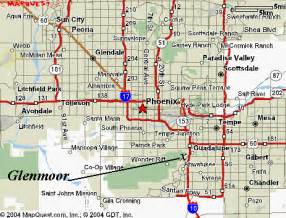 Map Of Phoenix Az by Maps Us Map Phoenix