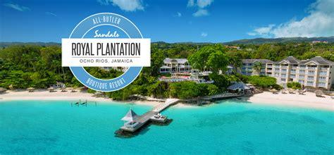 sandals plantation sandals royal plantation all inclusive boutique hotel