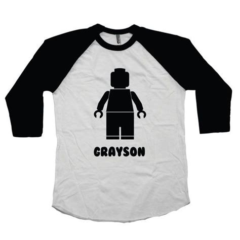 Raglan Lego lego shirt boys lego shirt legoland personalized shirt