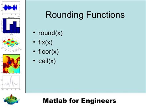 Matlab Floor Function by Chapter 3 Built In Matlab Functions