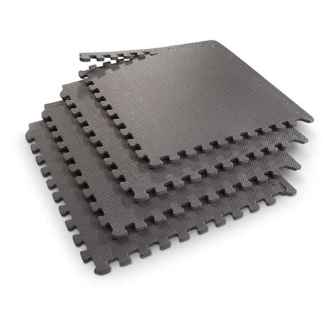 Interlocking Floor Mats by 3 Pk Of Interlocking Floor Mats Black 591913 Cing