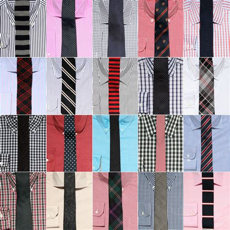 tie shirt pattern rules guy fashion stuff