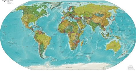 countries   phisical map   world political maps
