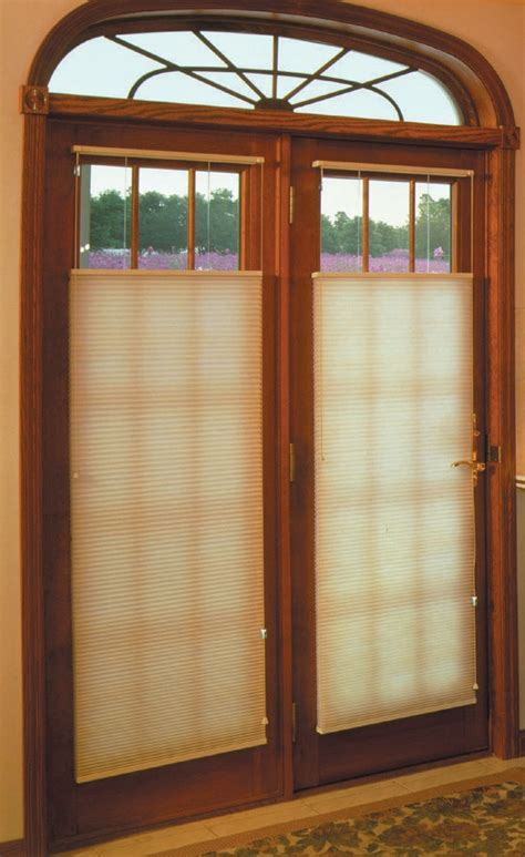 blinds for door windows window treatments for doors