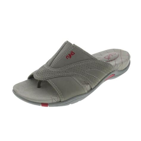 ryka sandals ryka 9352 womens essence casual slide athletic
