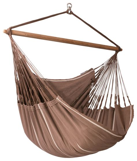 hammock chair swings la siesta hammock chair lounger habana chocolate lounger