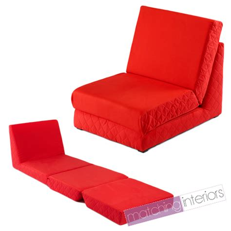 folding chair beds red folding z bed single chair bed 2 seat sofa fold out