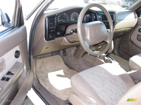 1999 Toyota Tacoma Interior by Oak Interior 1999 Toyota Tacoma Prerunner V6 Extended Cab