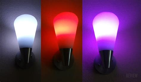 lumen tl800 and lumini tl100 app enabled led color mood light bulbs review