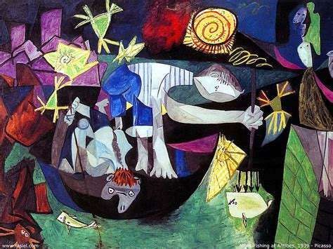 picasso paintings in usa picasso paintings fishing at antibes 1939 picasso