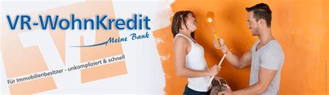 Vr Kredit Vr Wohnkredit