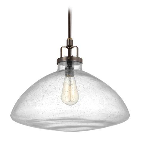 sea glass pendant light seeded glass pendant light bronze sea gull lighting