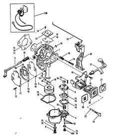 carburetor merc 25 mariner 25 for mariner mercury 18 20 25 h p xd