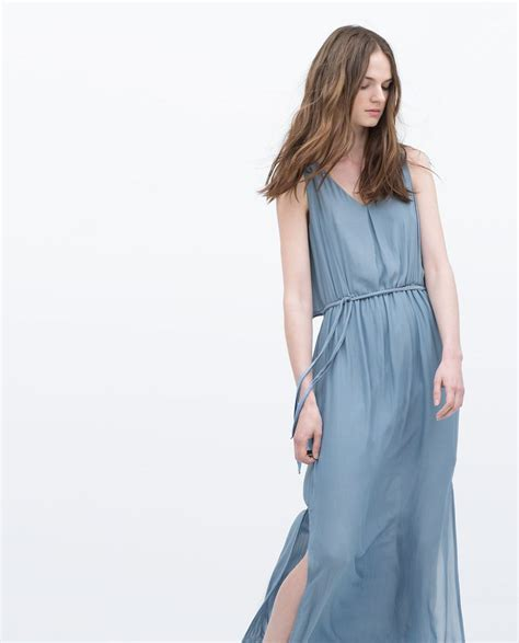 C040733 Maxi Layer Sarmila 3 layer dress maxi dresses zara united states clothing suggestions for clients