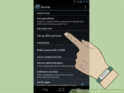 sim card locked android how to set up a sim lock on an android