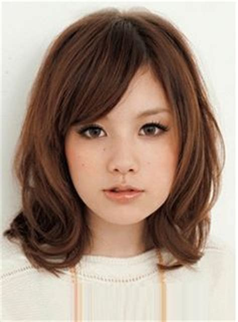 round face grey asian hair hairstyle for asian not straight hair round face google