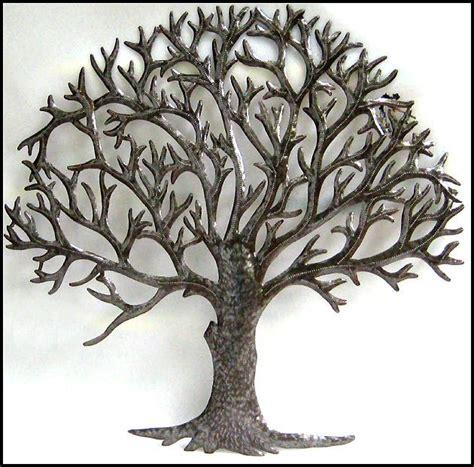 natural metal tree wall art decoration ideas metal tree