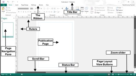 layout guides publisher 2013 the publisher 2016 user interface tutorial teachucomp