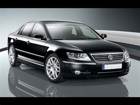 Volkswagen Luxury by Volkswagen Vw Phaeton Luxury Sedan Overview