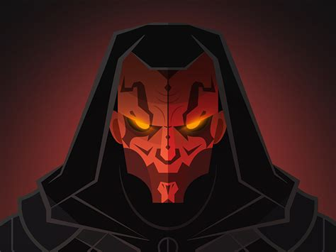 darth maul by inktheory on deviantart