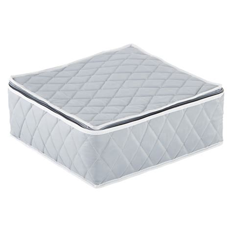 Quilted Plate Storage by Grey Quilted Cup Storage The Container Store