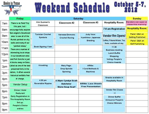 Wedding Weekend Itinerary Template Template Business Weekend Itinerary Template