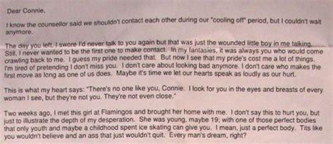 Response Letter For Divorce divorce letter pulls no punches izismile