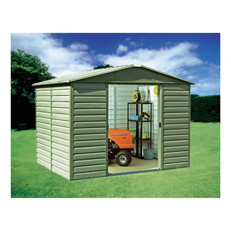 8x6 Metal Shed With Floor by Shedlast Yardmaster Shed Floors