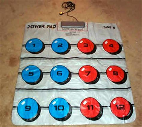 Nintendo Power Mat by Classic Commercials Nes Power Pad Techeblog