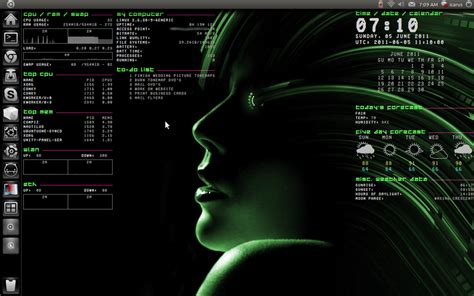 conky themes kali linux image gallery linux conky