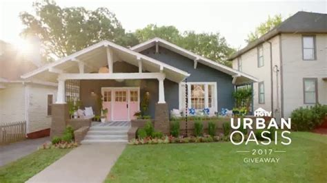 Www Hgtv Com Urbanoasis Sweepstakes - 2017 hgtv urban oasis giveaway tv commercial enter daily ispot tv