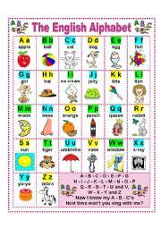 english worksheet the english alphabet