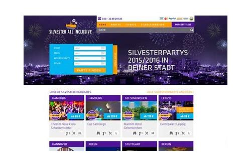 silvester all inclusive hamburg coupon