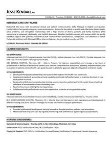 Critical Care Pharmacist Sle Resume by Exle Icu Intensive Care Unit Resume Free Sle