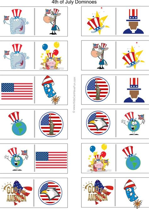printable 4th of july games 17 best images about 4th of july printables on pinterest